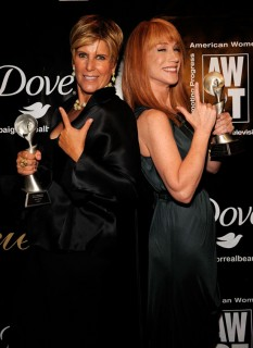 Suze Orman & Kathy Griffin // 2009 AWRT Gracie Awards
