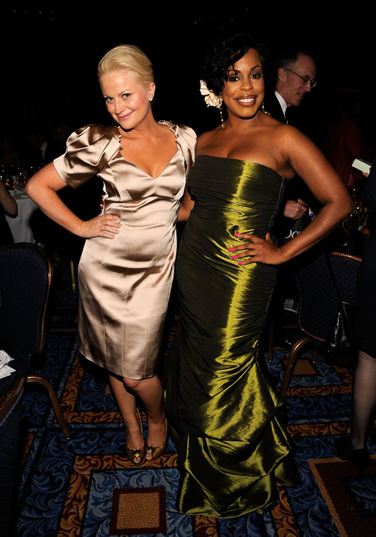 Amy Poehler & Niecy Nash // 2009 AWRT Gracie Awards
