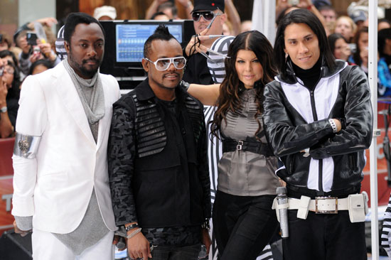 The Black Eyed Peas // NBC's Today Show (June 12th 2009)