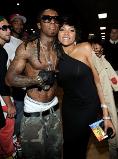 Lil Wayne & Taraji P. Henson // 2009 BET Awards (Audience)
