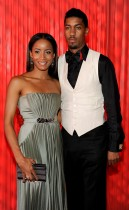 Fonzworth Bentley and (girlfriend) Faune A. Chambers // 2009 BET Awards (Backstage)