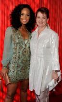 Alicia Keys and her mom Terri Augello // 2009 BET Awards (Backstage)