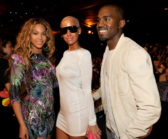 Beyonce, Amber Rose and Kanye West // 2009 BET Awards (Audience)