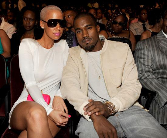 Kanye West & Amber Rose // 2009 BET Awards (Audience)