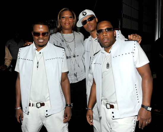 Queen Latifah and BBD // 2009 BET Awards (Backstage)