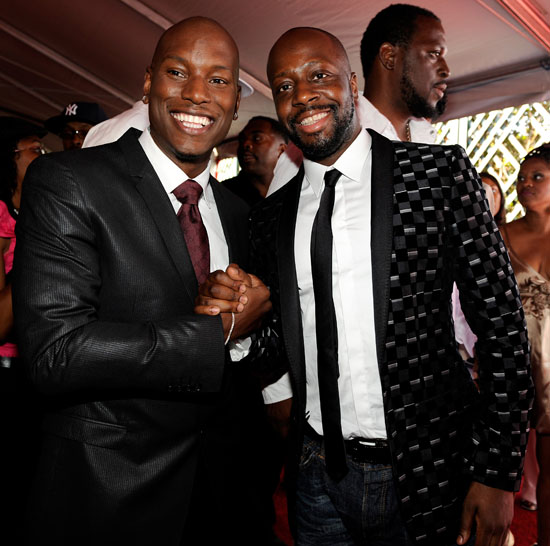 Tyrese & Wyclef Jean // 2009 BET Awards (Audience)