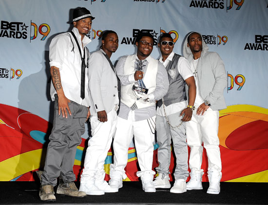 Day 26 // 2009 BET Awards (Press Room)