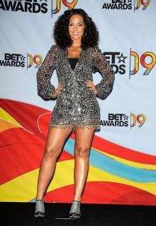 Alicia Keys // 2009 BET Awards (Press Room)