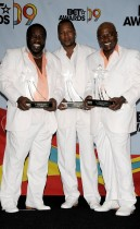 Eddie Levert, Eric Grant, and Walter Williams of the O\'Jays // 2009 BET Awards (Press Room)