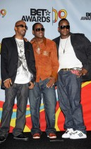Ralph Rresvant, Johnny Gill and Bobby Brown of New Edition // 2009 BET Awards (Press Room)