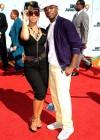 Ne-Yo and his girlfriend Tenille Jiminez // 2009 BET Awards (Red Carpet)