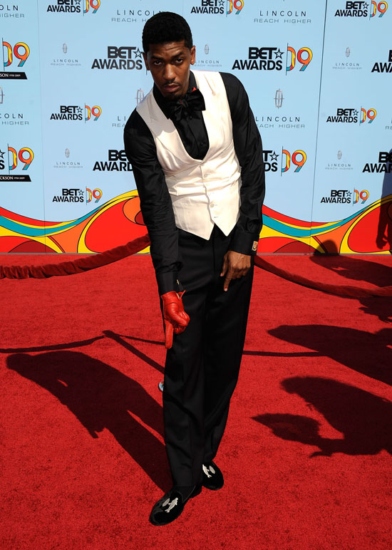 Fonzworth Bentley 2009 Bet Awards Red Carpet