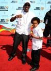 Arsenio Hall & his son Arsenio Jr. // 2009 BET Awards (Red Carpet)