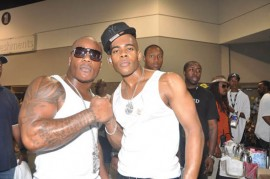 Sean Garrett & Mario // 2009 Burger King Fam Fest in Atlanta, Georgia
