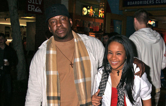 Bobby Brown and his daughter Bobbi Kristina