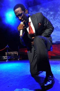 Shawn Stockman of Boyz II Men performing in the UK at the indigO2 at London\'s O2 Arena