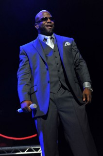 Wanya Morris of Boyz II Men performing in the UK at the indigO2 at London\'s O2 Arena