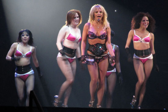 Britney Spears // The Circus Tour: Starring Britney Spears at O2 Arena in London