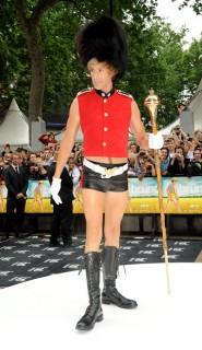 Sacha Baron Cohen // Premiere of Bruno in London, England