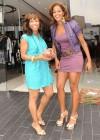 Elise Neal & Claudia Jordan on Robertson Blvd. in Los Angeles (June 15th 2009)