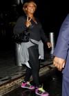 Queen Latifah leaving Midtown Manhattan hotel in NYC (June 15th 2009)