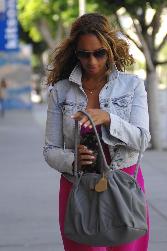 Leona Lewis out & about in West Hollywood, CA (June 22nd 2009)