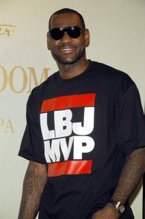 Lebron James at Carol\'s Daughter in New York City