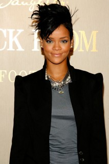 Rihanna at Carol\'s Daughter in New York City