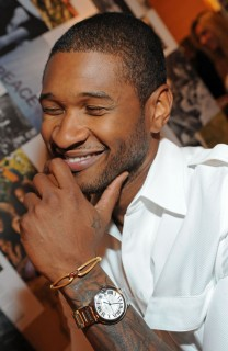 Usher // 100th Anniversary In America Celebration at the Cartier Boutique