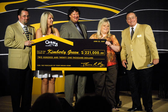 Century 21 Reps // Century 21\'s Presentation of Grand Prize for Path to Your Dreams Sweepsakes