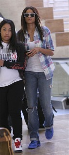 Ciara leaving LAX Airport (June 22nd 2009)