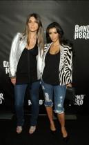 Brittny Gastineau & Kim Kardashian // DJ Hero Launch Party