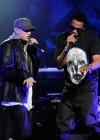 Eminem & Jay-Z peform at DJ Hero Launch