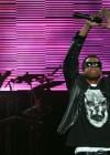 Jay-Z peforms at DJ Hero Launch
