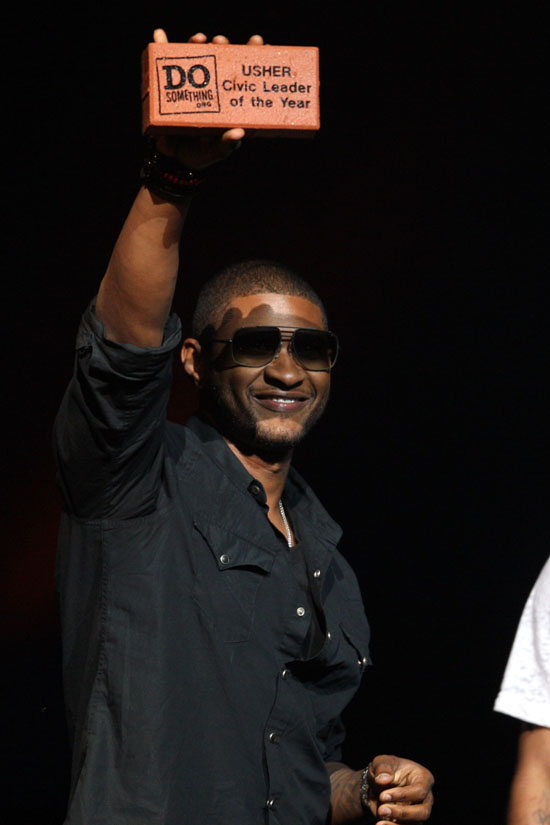Usher // 6th Annual Do Something Awards in NYC