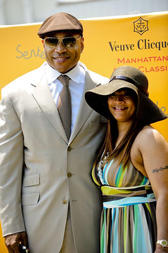 LL Cool J & his wife Simone // 2009 Vueve Clicquot Manhattan Polo Classic
