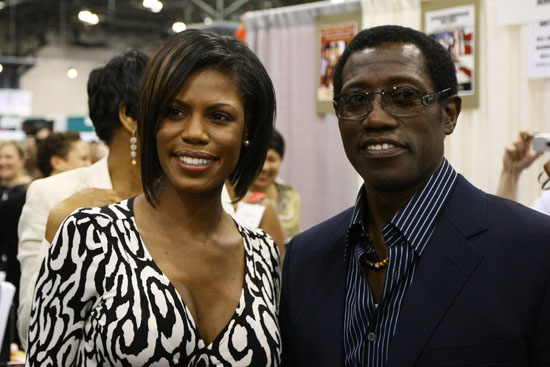 Omarosa Manigault-Stallworth & Wesley Snipes // Book Presentation of African Legends Past and Future