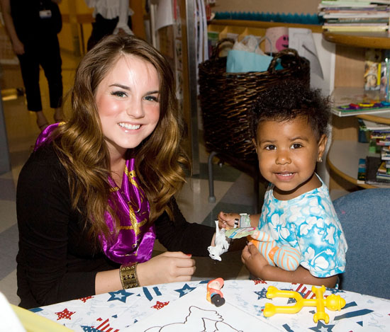JoJo // Visit to Children's Hospital in Boston, MA