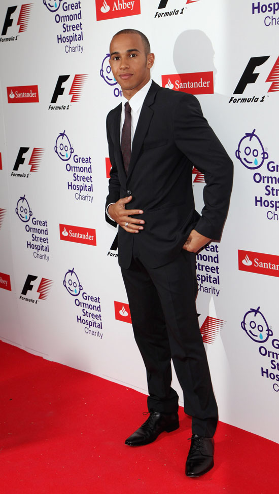 Lewis Hamilton // F1 Charity Party in aid of Great Ormond Street Hospital