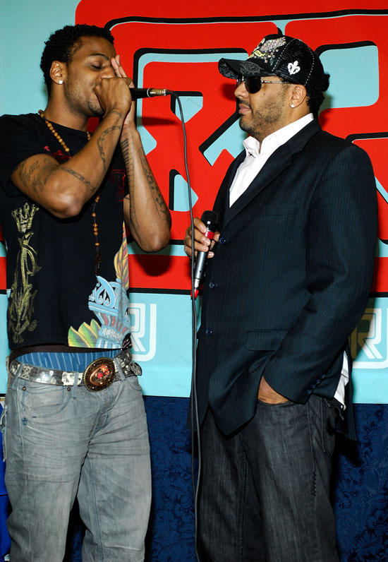 Al B. Sure & Lil B. Sure at J&R Music And Computer World