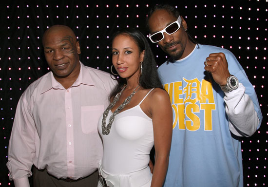 Mike Tyson, Lakiha Spicer & Snoop Dogg // EA Sports' Launch Party for Fight Night Round 4