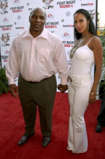 Mike Tyson & Lakiha Spicer // EA Sports\' Launch Party for Fight Night Round 4