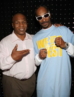Mike Tyson & Snoop Dogg // EA Sports\' Launch Party for Fight Night Round 4