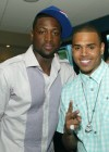 Dwyane Wade & Chris Brown at Game 4 of the 2009 NBA Finals in Orlando (June 11th 2009)