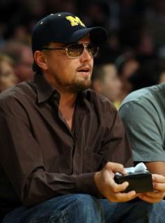 Leonardo DiCaprio // NBA Finals 2009 Game 2