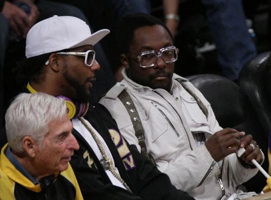 Polow da Don & Will.i.am // NBA Finals 2009 Game 2