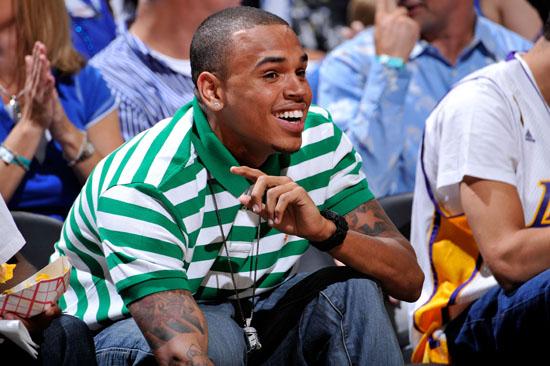 Chris Brown // NBA Finals 2009 Game 3 (Magic vs. Lakers) in Orlando, FL (Jun 9th 2009)