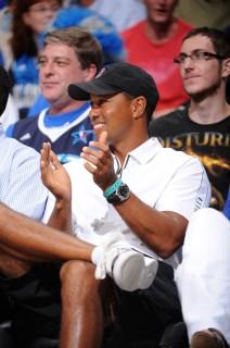 Tiger Woods // NBA Finals 2009 Game 3 (Magic vs. Lakers) in Orlando, FL (Jun 9th 2009)
