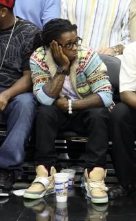 Lil Wayne // NBA Finals 2009 Game 3 (Magic vs. Lakers) in Orlando, FL (Jun 9th 2009)