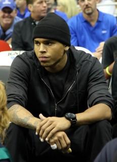 Chris Brown // Game 5 of the 2009 NBA Finals in Orlando, FL (Lakers vs. Magic - June 14th 2009)